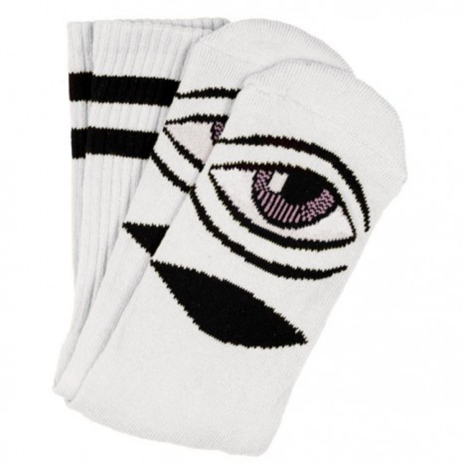 Toy Machine Sect Eye Sock White