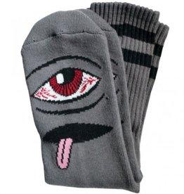 Toy Machine Bloodshot Eye Sock Grey
