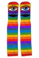 Toy Machine Sect Eye Rainbow Knee High Sock