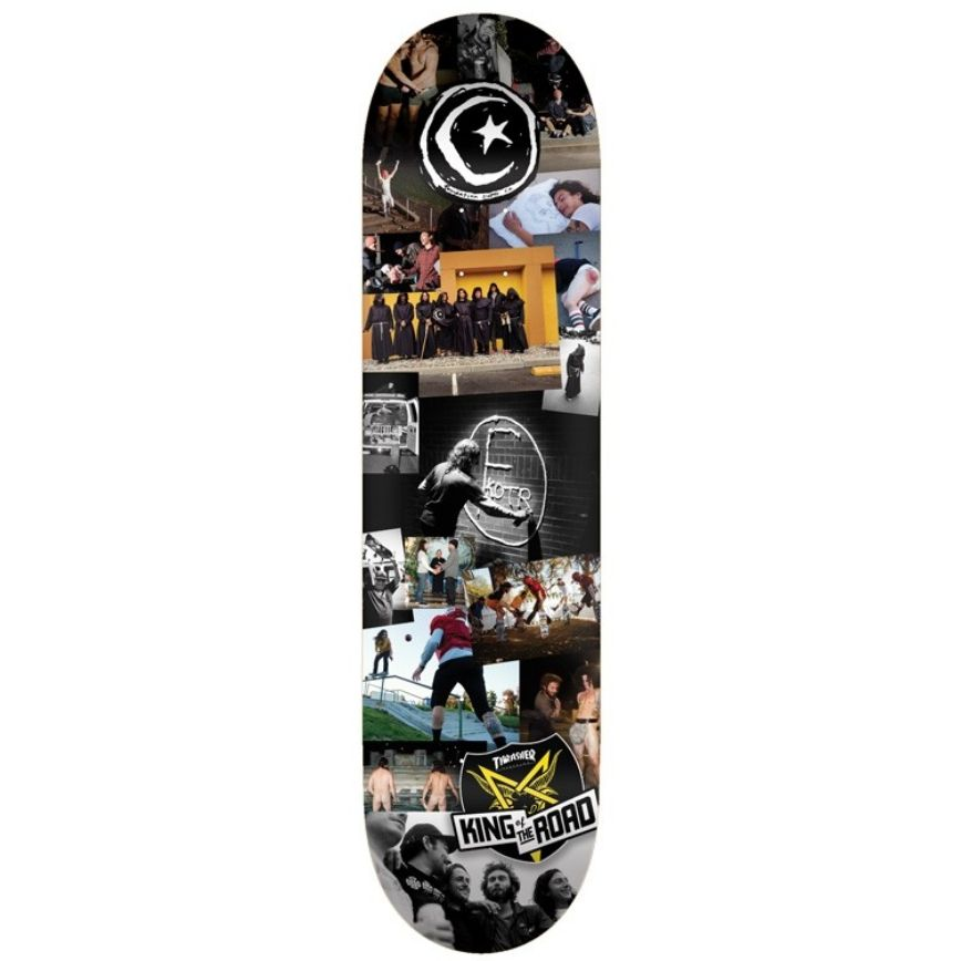 Foundation Skateboards Star & Moon KOTR 8.5""