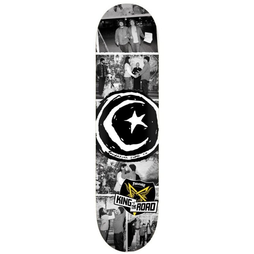 Foundation Skateboards KOTR Wedding 8.38""