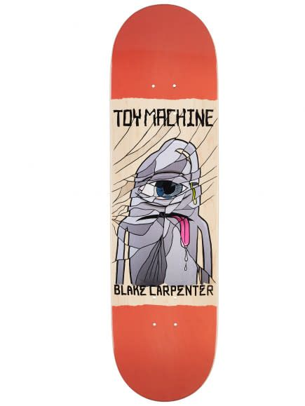 Toy Machine Carpenter Broken 8.38""