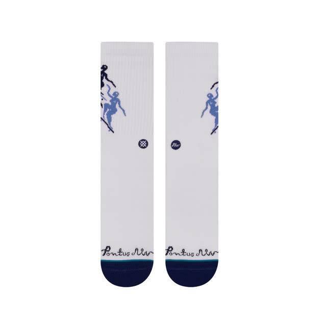 Stance Socks Pontus White Medium