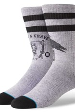 Stance Socks Lifes A Grave Grey Large