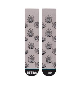 Stance Socks Bless Up Grey Large