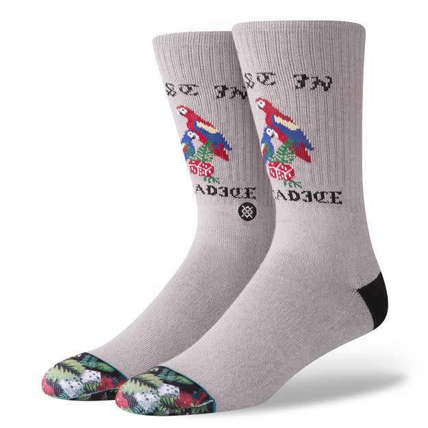Stance Socks Paradice Grey Large