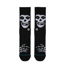Stance Socks Misfits Black Large