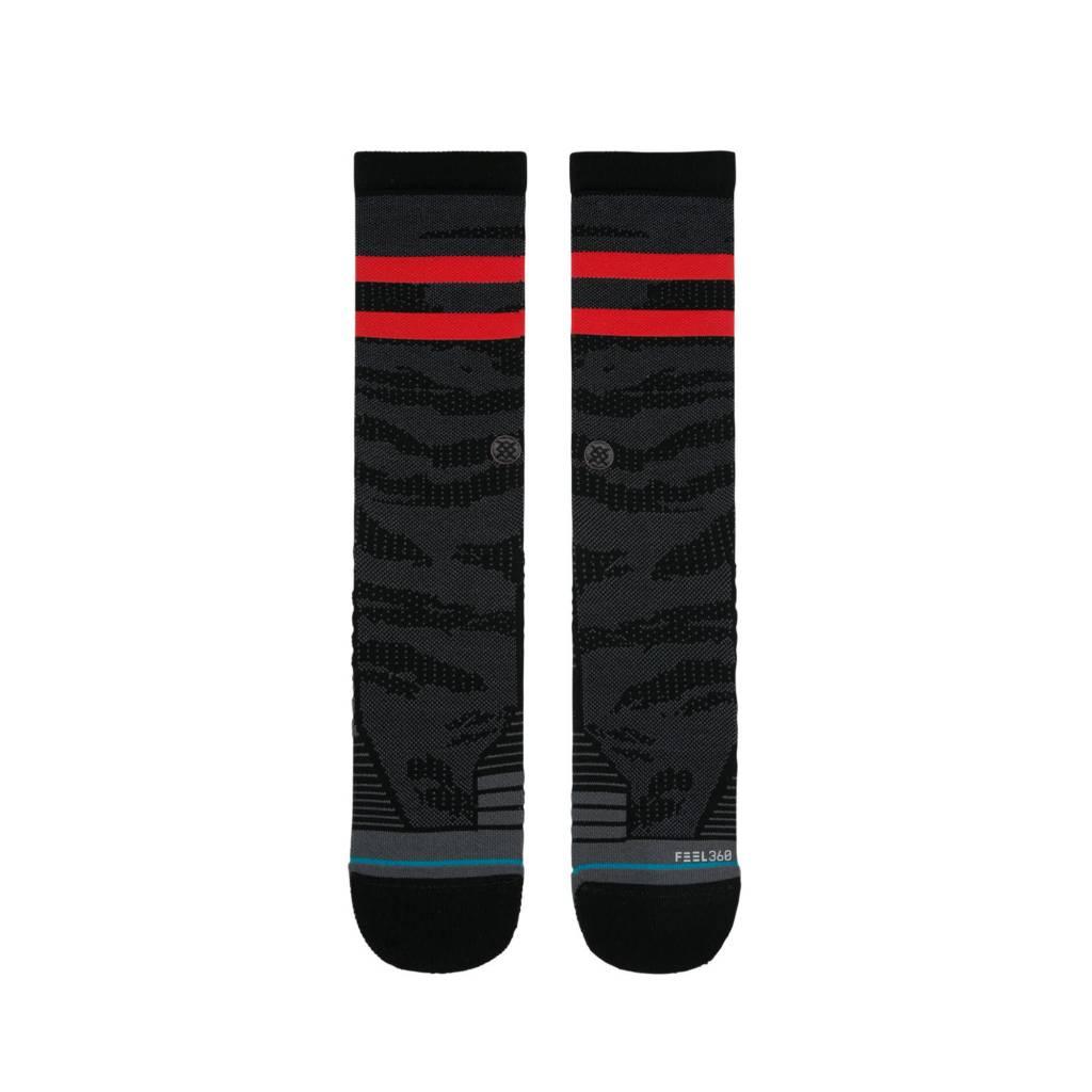Stance Socks Training Uncommon Solids Crew Black Large