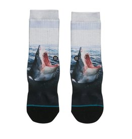 Stance Socks Sea Wolf Blue Boys Medium
