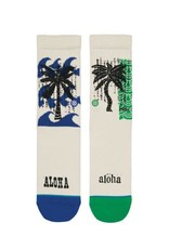 Stance Socks Oblow Palms Natural Boys Large