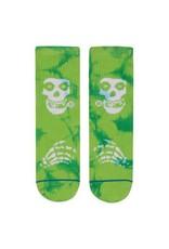 Stance Socks Misfits Green Boys Large