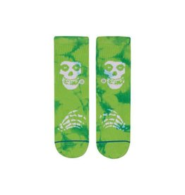 Stance Socks Misfits Green Boys Large