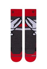 Stance Socks Crab Grab Red Boys Large