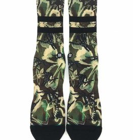 Stance Socks Bone Shaka Black Large