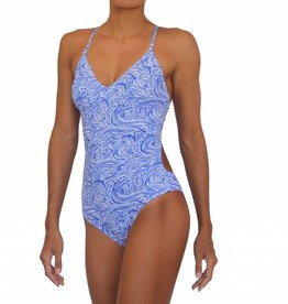 Pualani Sport One Piece w/ scrunch Waves