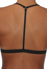 Reversible T-Back Black Solid