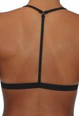 Reversible T-Back Black Solid