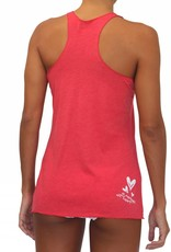 Pualani Mermaid T Back Tank Red