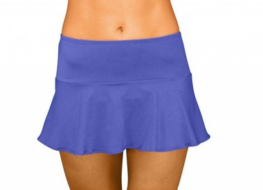 Skirt with Attached Bottom