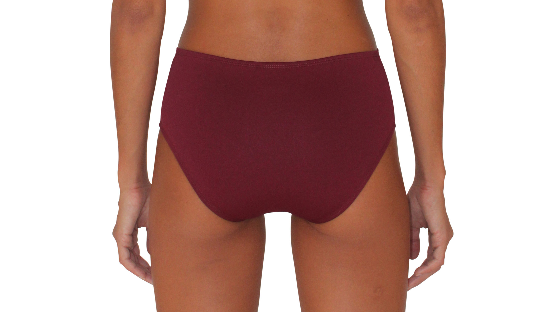 Pualani Full Bottom Maroon Solid
