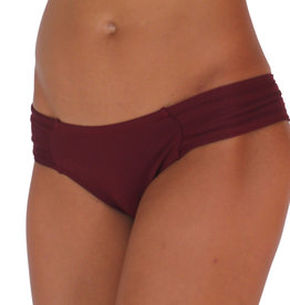 Pualani Love Without The Handles Maroon Solid
