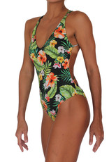 Skimpy Bottom One Piece Jungle Love