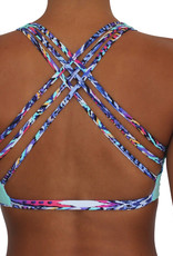 Pualani Reversible Fitness Surf Top Samba