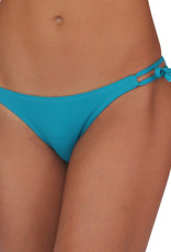 Pualani Skimpy Double Tie Teal Solid