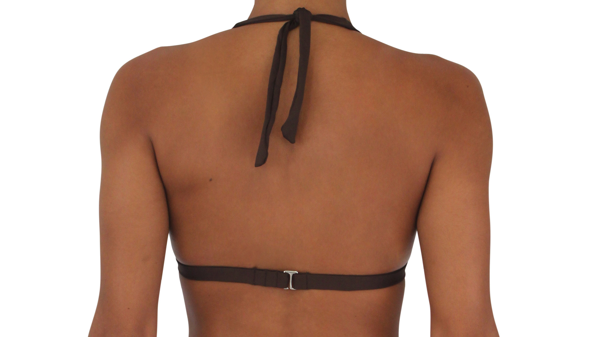 Pualani Halter Chocolate Solid