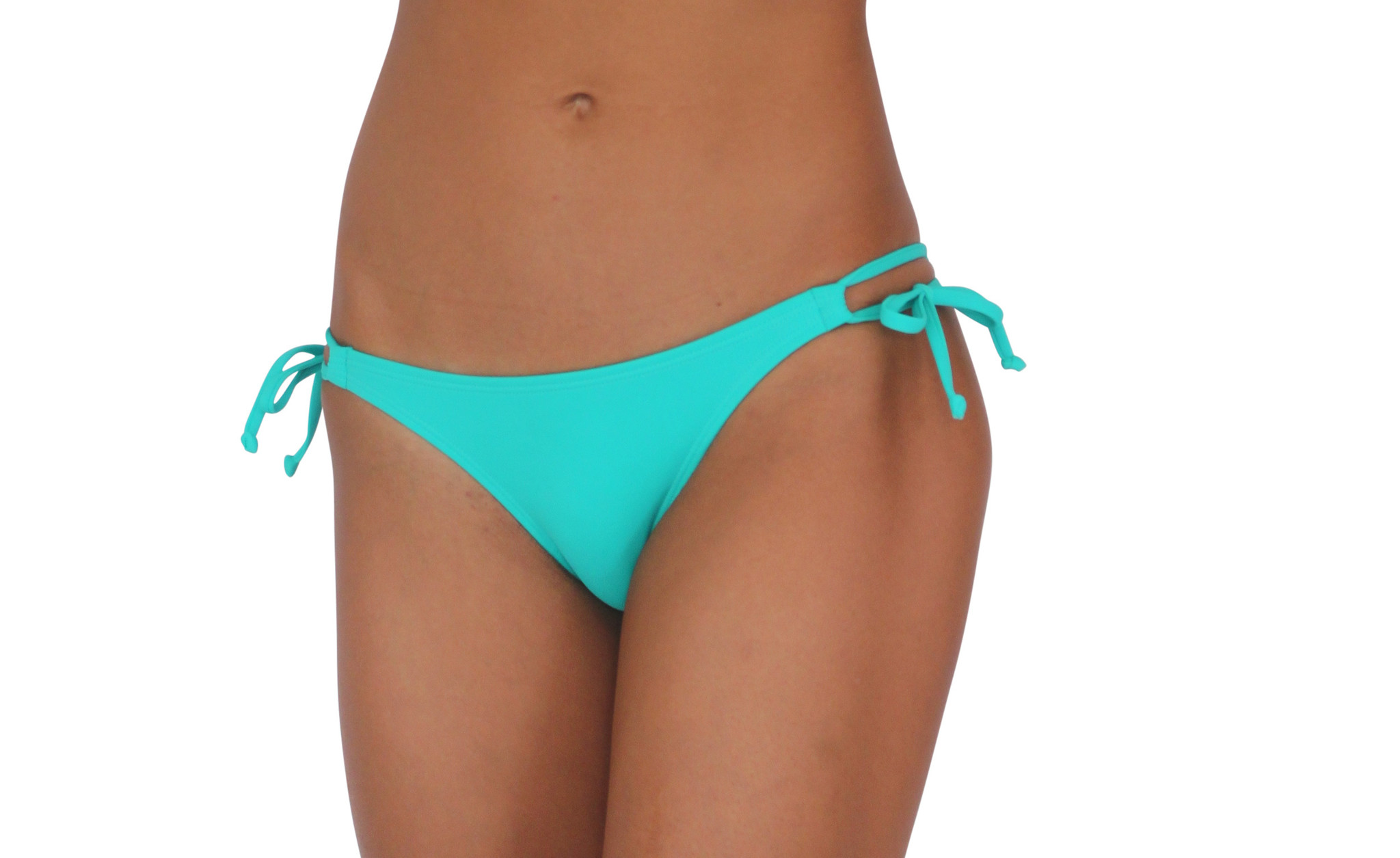 Pualani Skimpy Double Tie Sea Green Solid