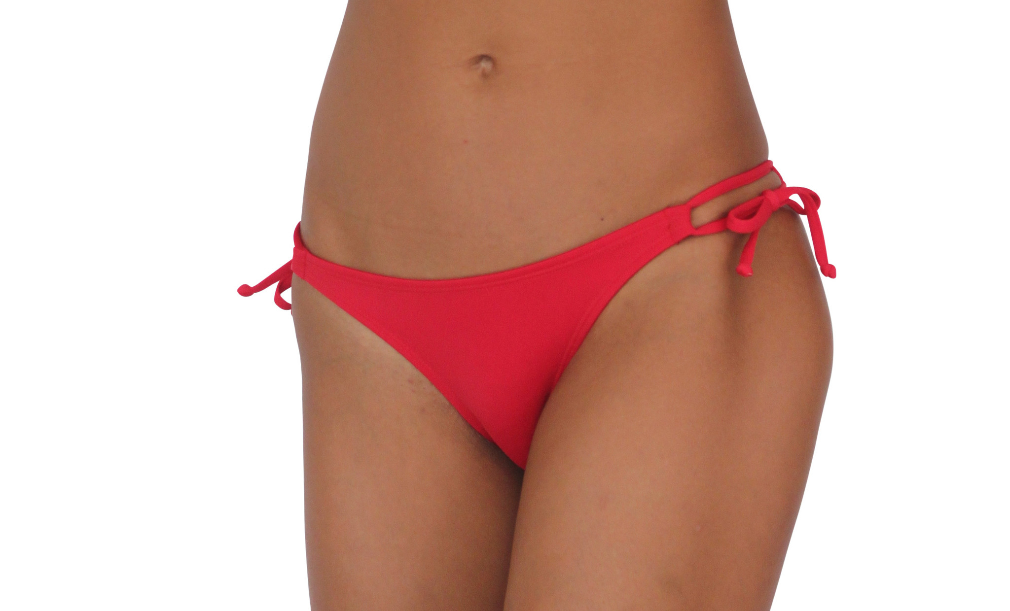 Pualani Skimpy Double Tie Red Solid