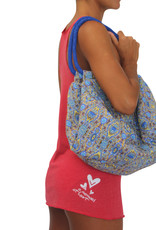 Pualani Large Beach Bag Midnight Blue
