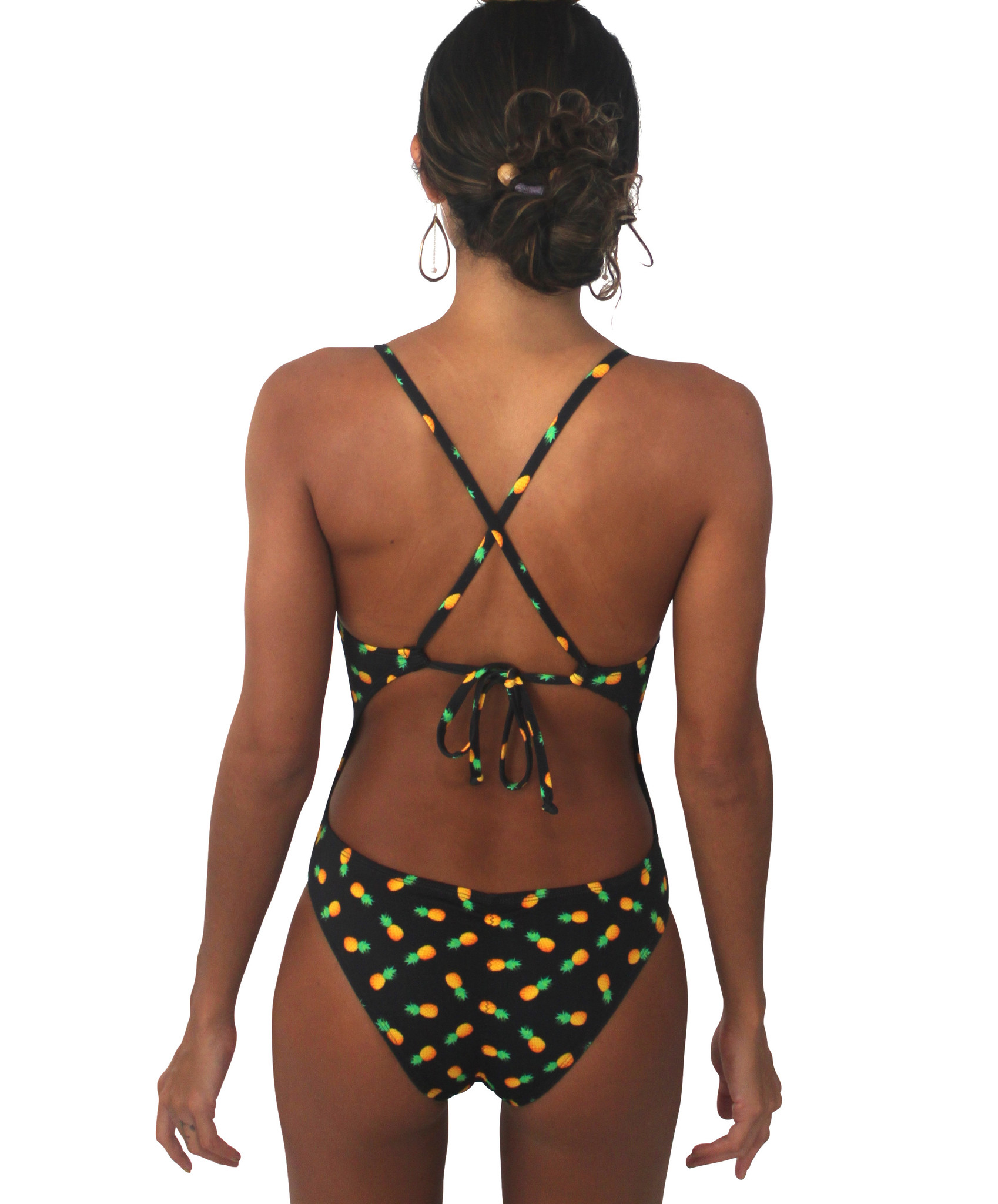 Pualani Sport One Piece Pineapple