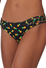 Pualani Scoop w/ Side Strings Pineapple