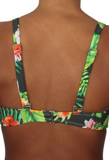 Pualani Soft Cup Bandeau Jungle Love
