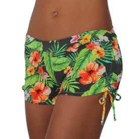 Pualani Drawstring Short Jungle Love