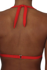 Pualani Halter Orange Solid