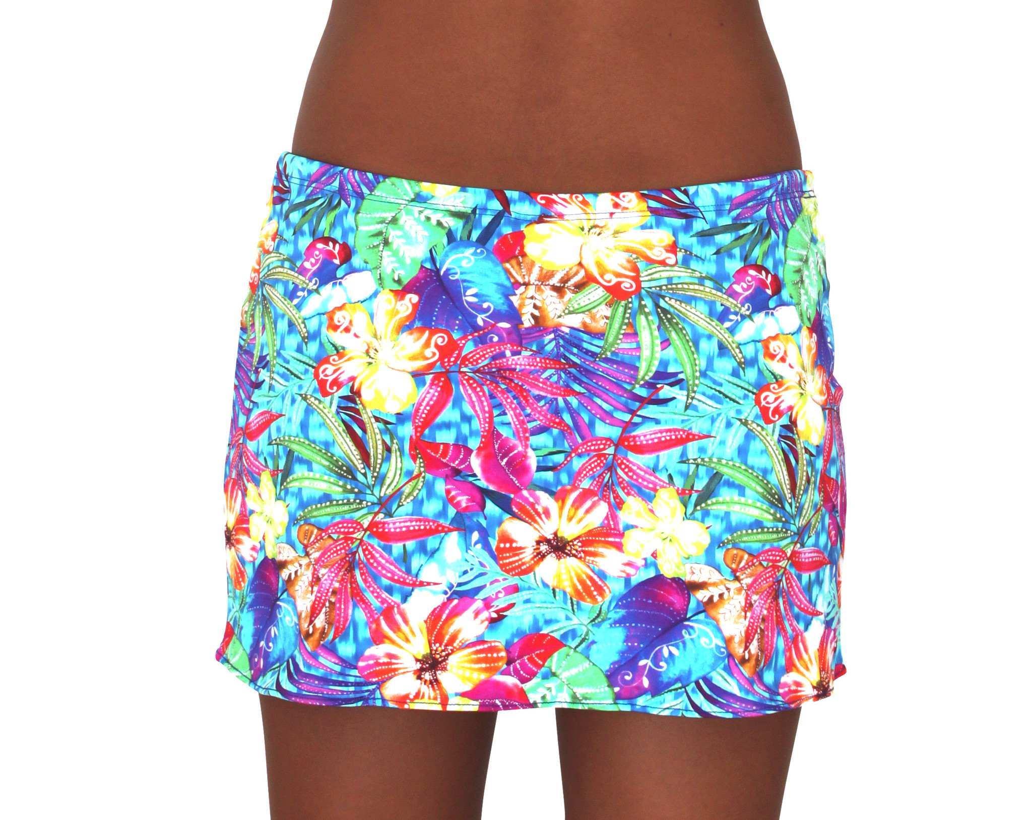 Pualani Short Drawstring Skirt Paradise