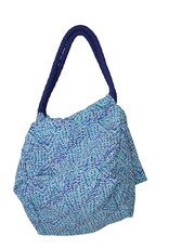 Pualani Small Beach Bag Blue Confetti