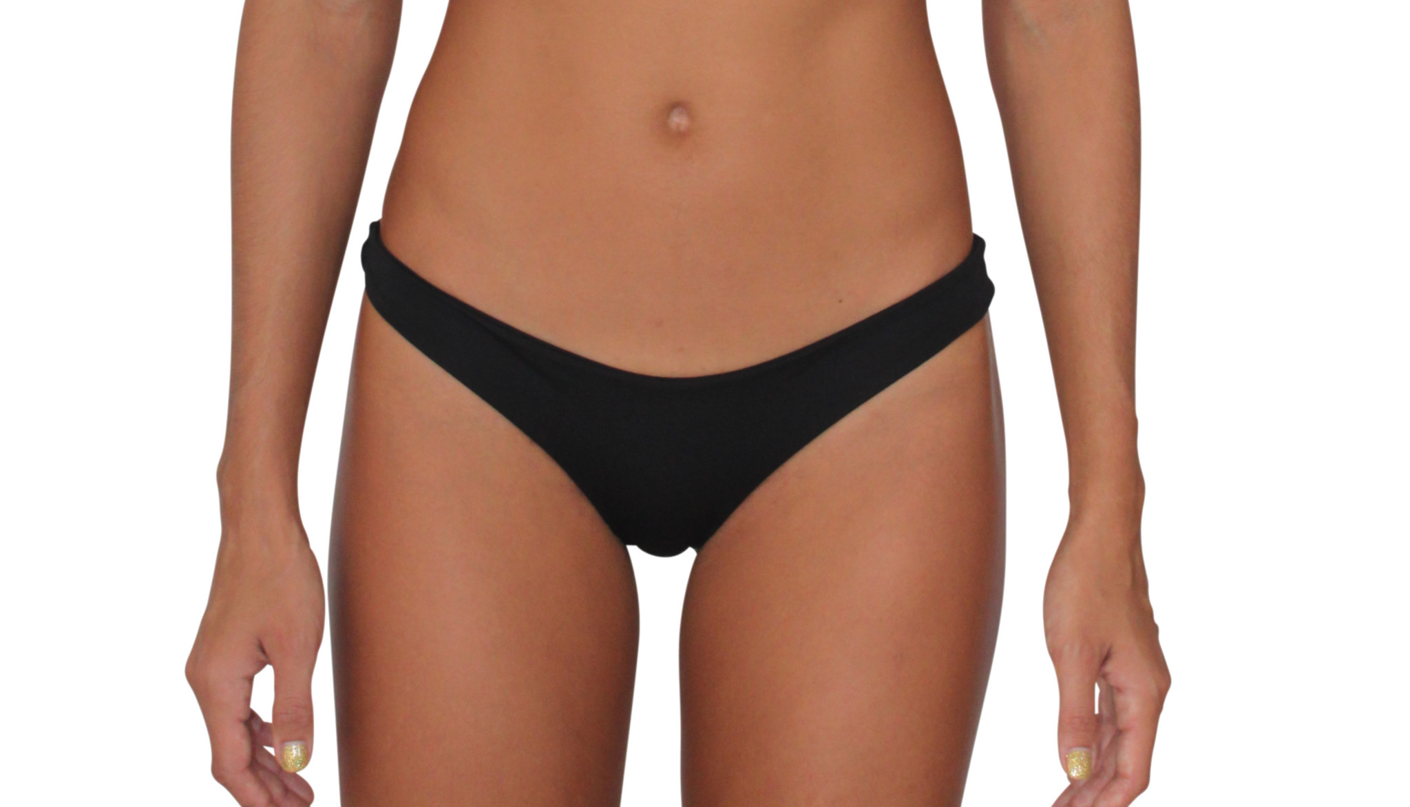 Pualani Reversible Thong Black