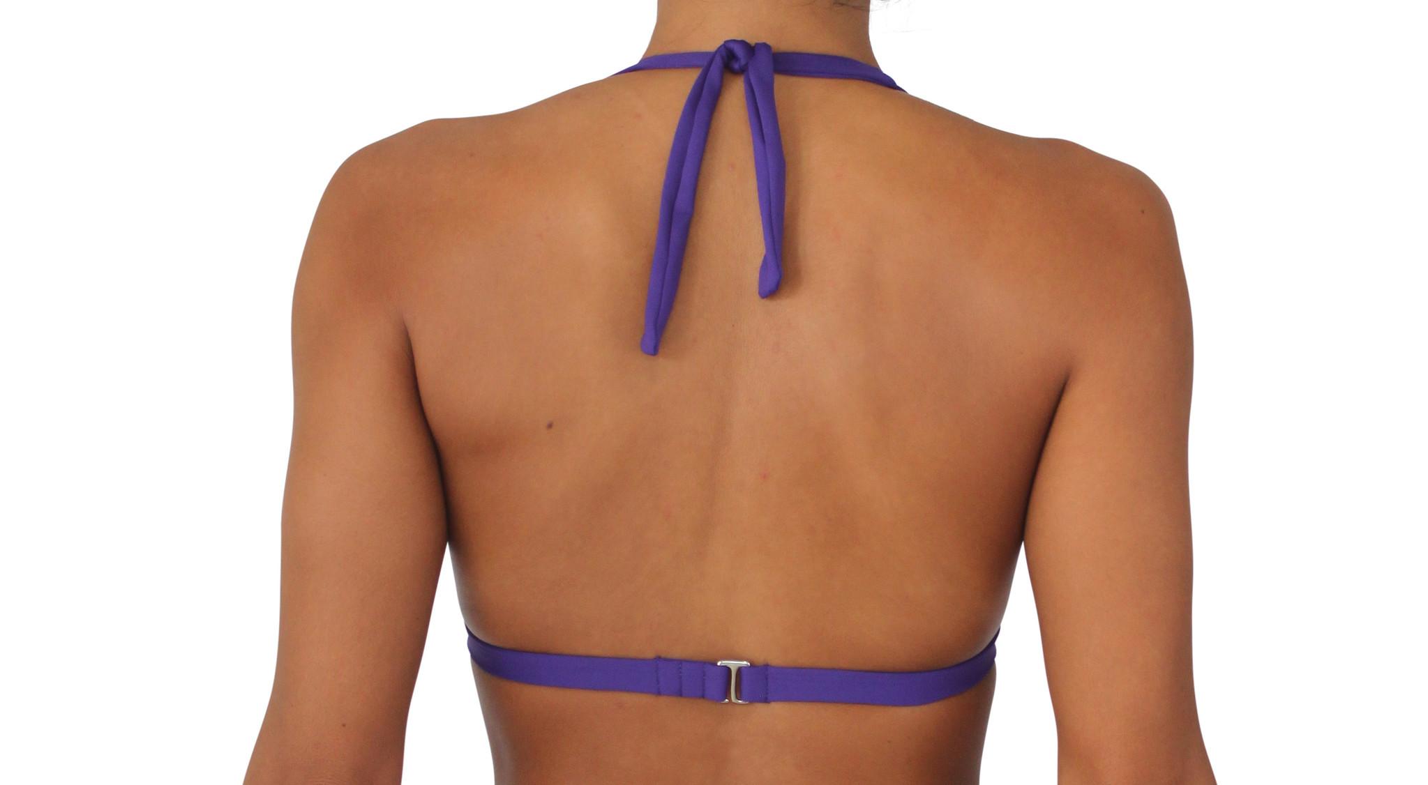Pualani Halter Purple Solid