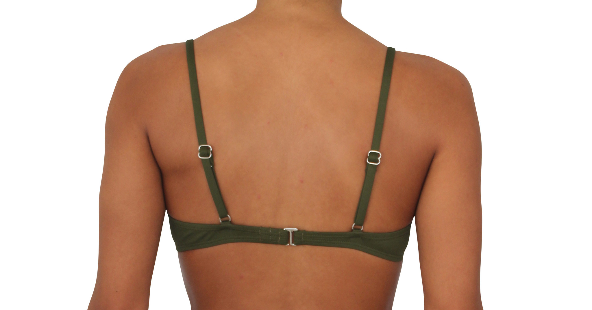 Pualani Bra Top Olive Solid