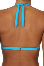 Pualani Halter Electric Blue Solid