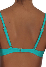 Pualani Bra Top Sea Green Solid