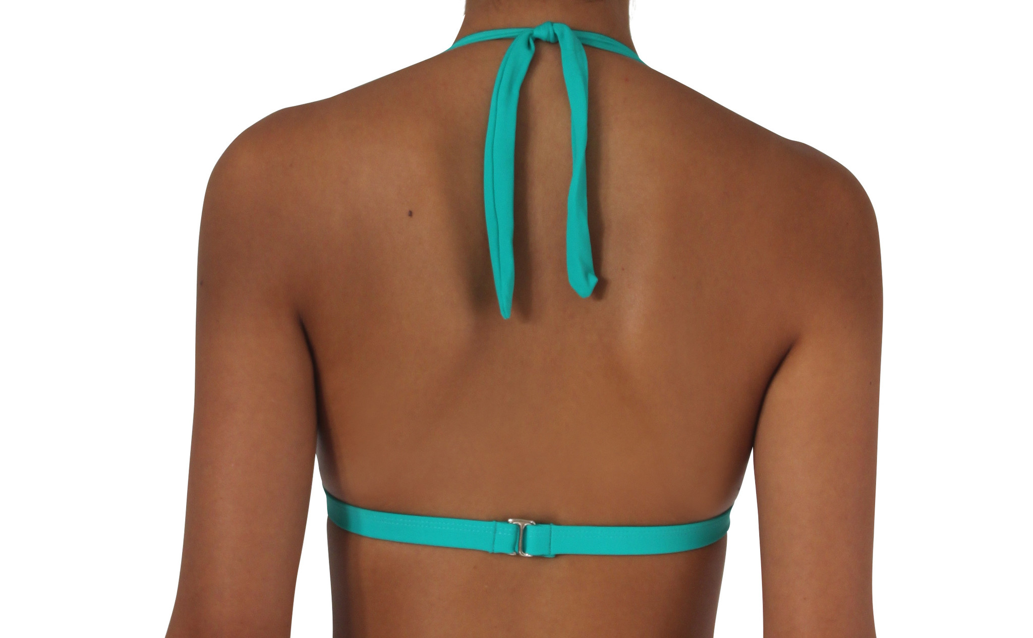 Pualani Halter Sea Green Solid