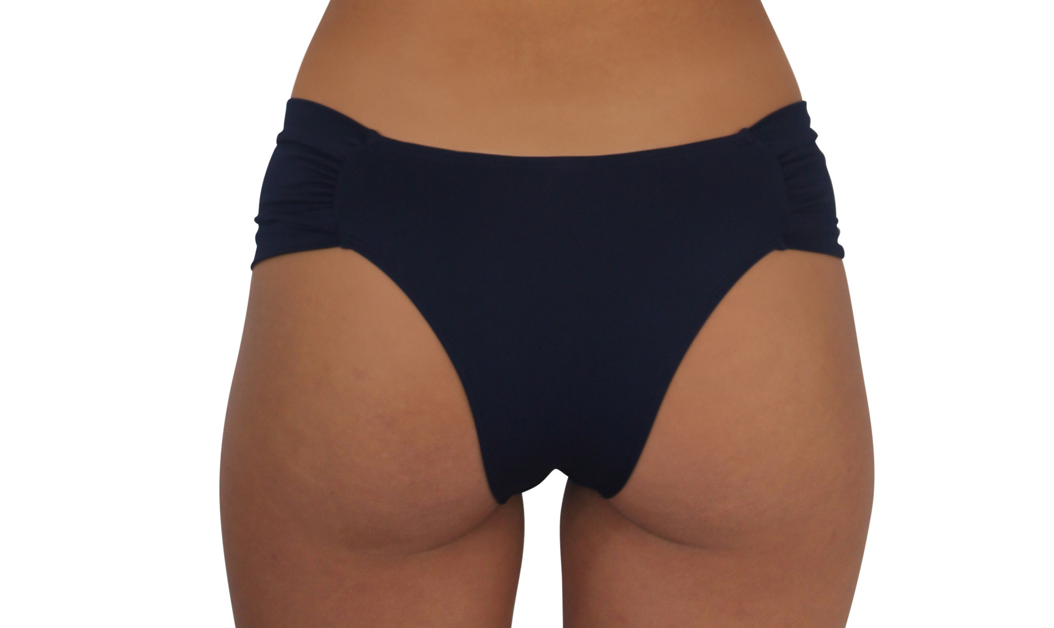Butterfly Bottom Navy Solid