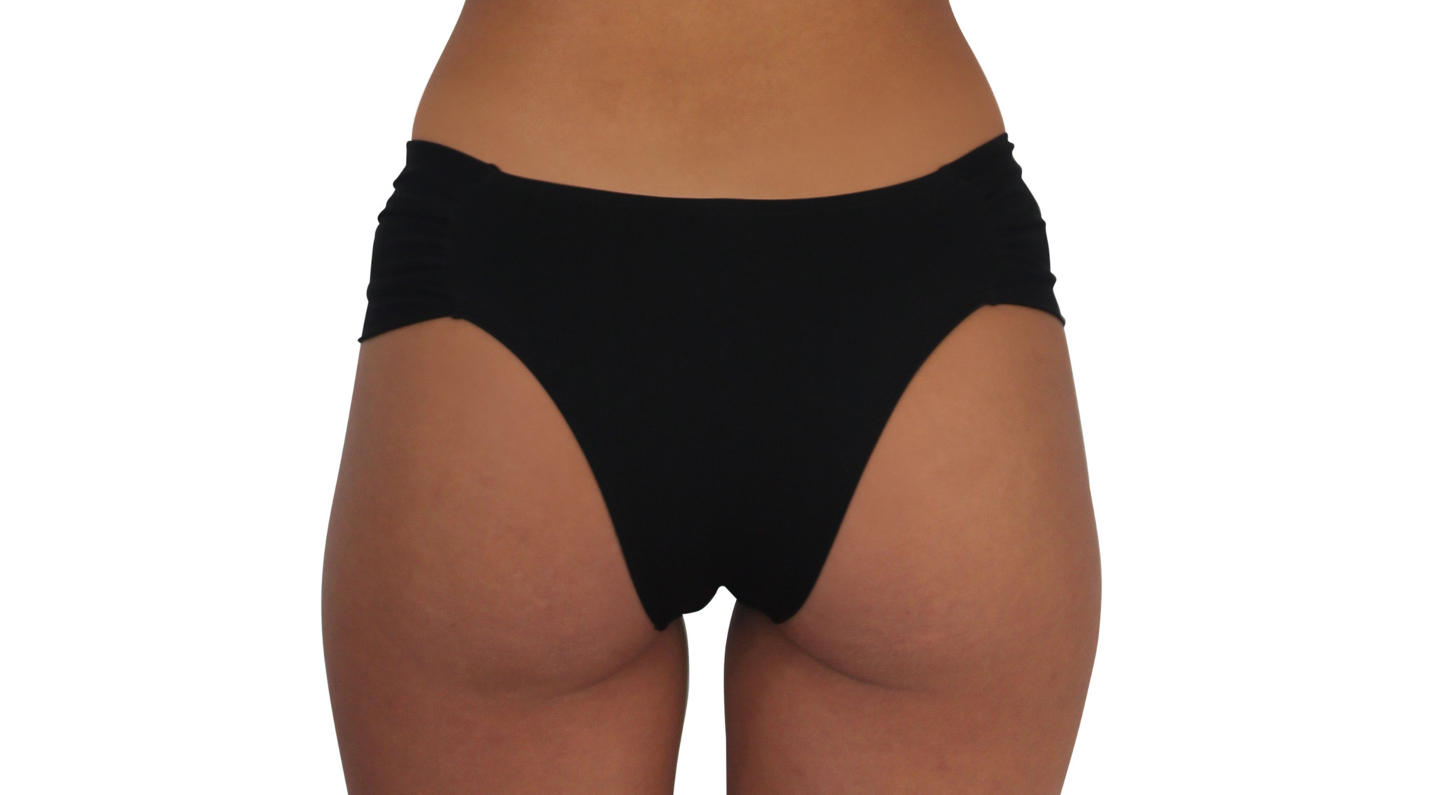 Butterfly Bottom Black Solid