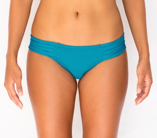 Pualani Love Without The Handles Teal Solid