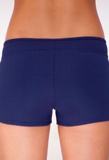 Pualani Hot Pant Navy Solid