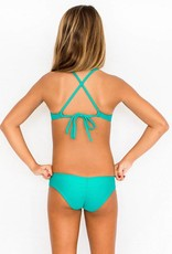 Pualani Mini Sport Tie Sea Green